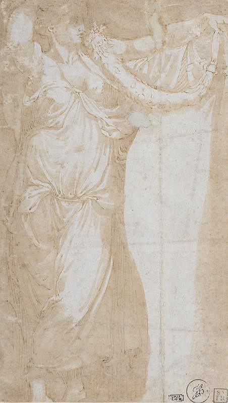 Daniele Ricciarelli zv. Dan. da Volterra -podle – Žena s girlandou