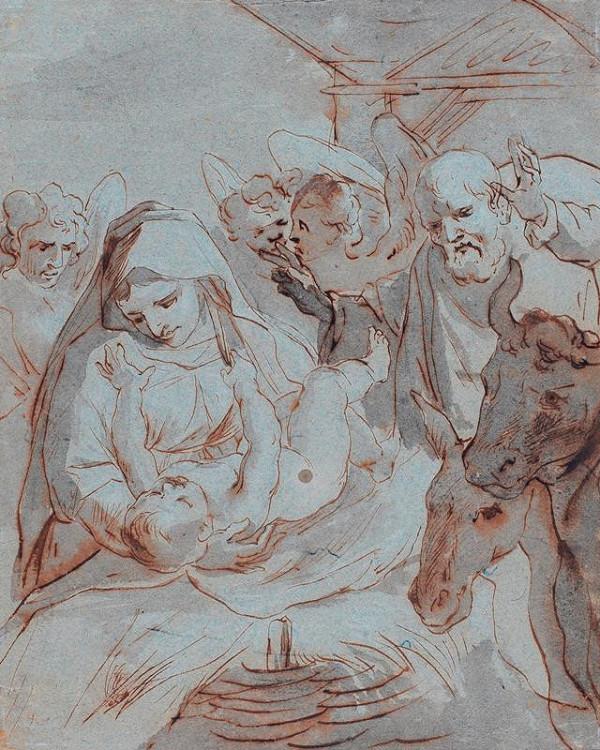 Giovanni Battista Sassoferrato - podle - Svatá noc
