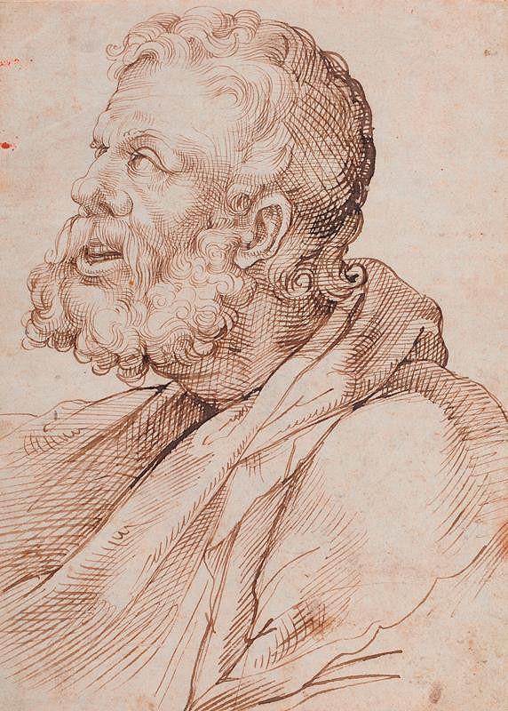 Bartolomeo Passarotti - Portrét starého muže
