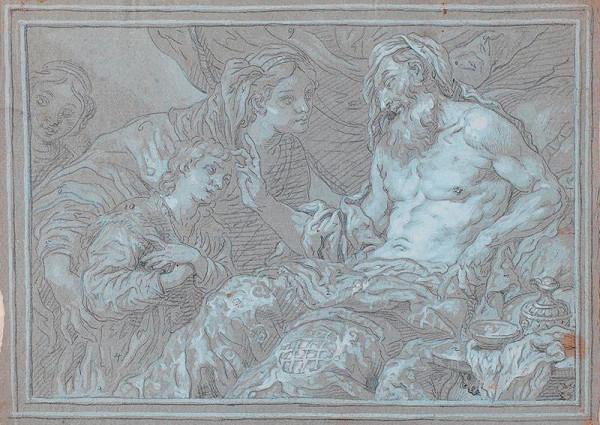 Johann Carl Loth zv. Carlotto – Izák žehná Jákobovi