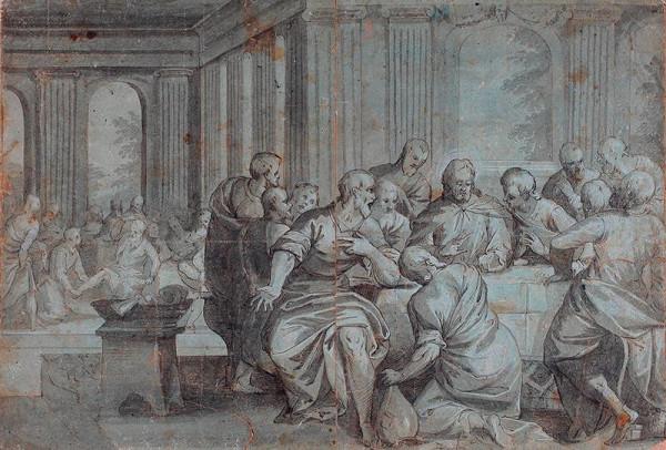 Benedetto Caliari - podle – Poslední večeře