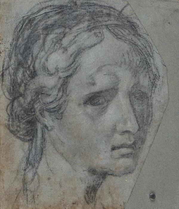 Daniele Ricciarelli zv. Daniele da Volterra (?) – Hlava ženy