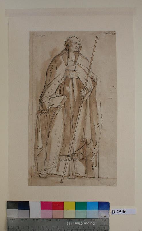 Giovanni Lanfranco - podle – Sv. Řehoř Veliký