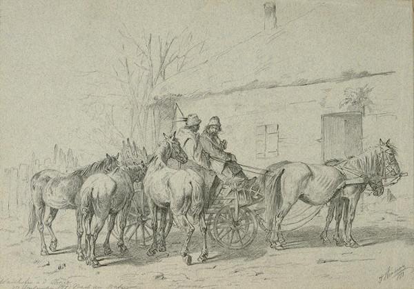 Theodor Hörmann - Cestou na trh