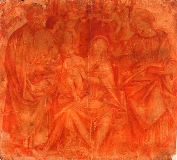 Gaudenzio Ferrari - podle – Madona mezi sv. Janem a sv. Bartolomějem