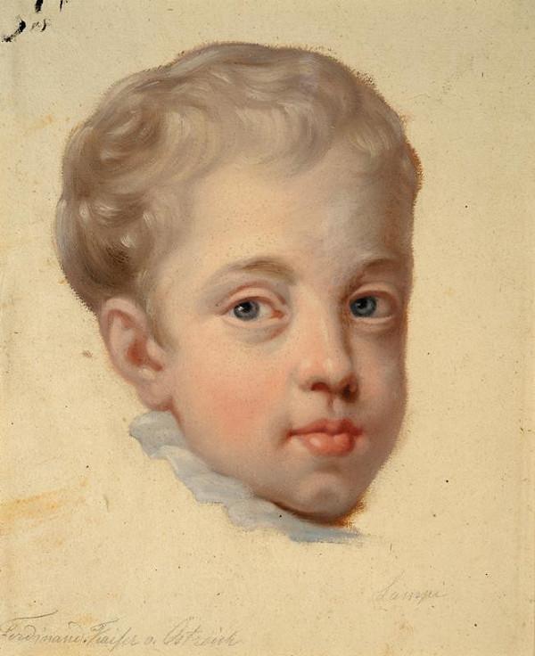 Johann Baptist Lampi ml - Podobizna císaře Ferdinanda I. v dětském věku