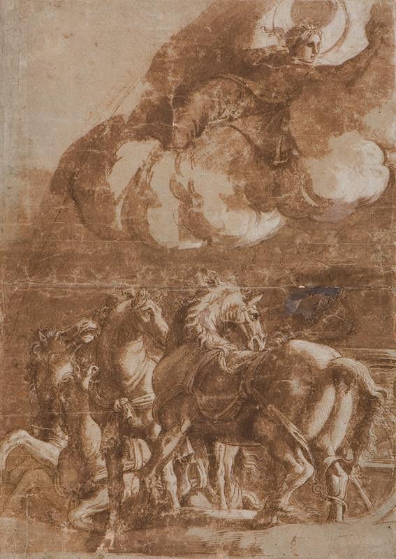 Giulio Pippi zv. Giulio Romano - dílna - Helios a Luna