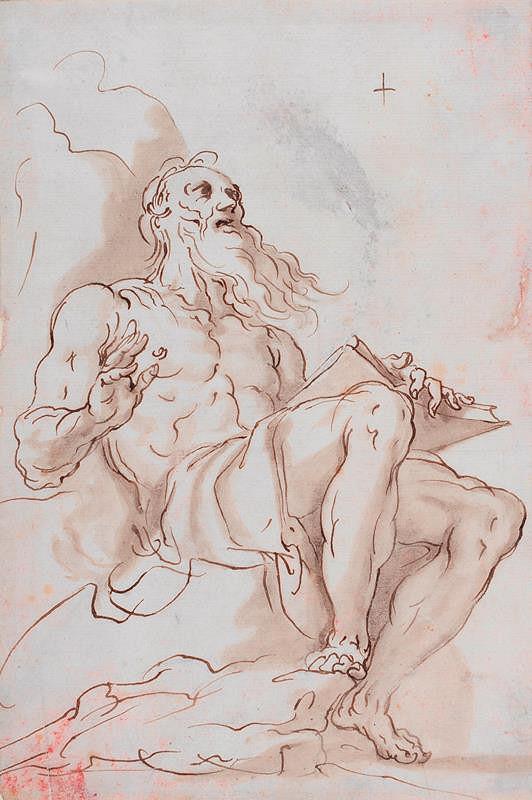 Cornelis van Haarlem - připsáno – Sv Jeroným