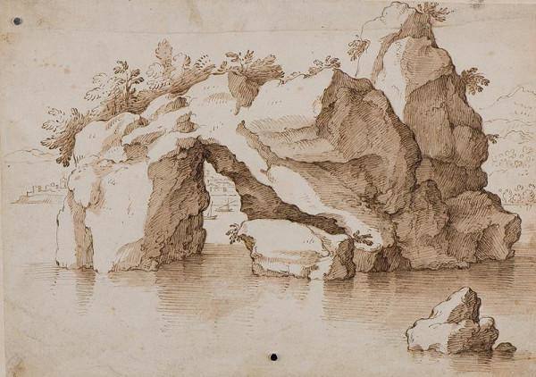 Gherardo Cibo - podle - Skály v moři