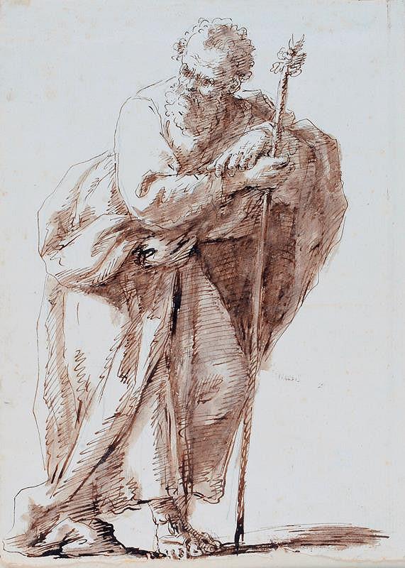 neznámý malíř benátský – Sv. Josef