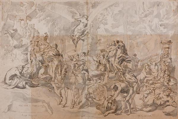 Pietro Testa - podle – Triumf malířství