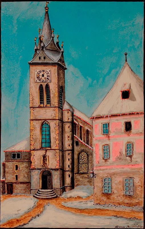 Mořic (Mauritz) Vilém Trapp - Kostel sv. štěpána v Praze