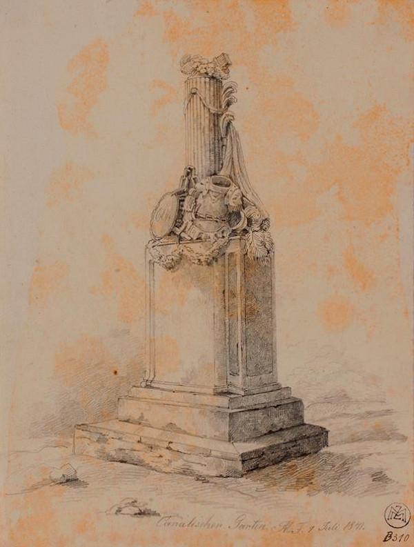 Mořic (Mauritz) Vilém Trapp – Pomník v Kanálce u Prahy
