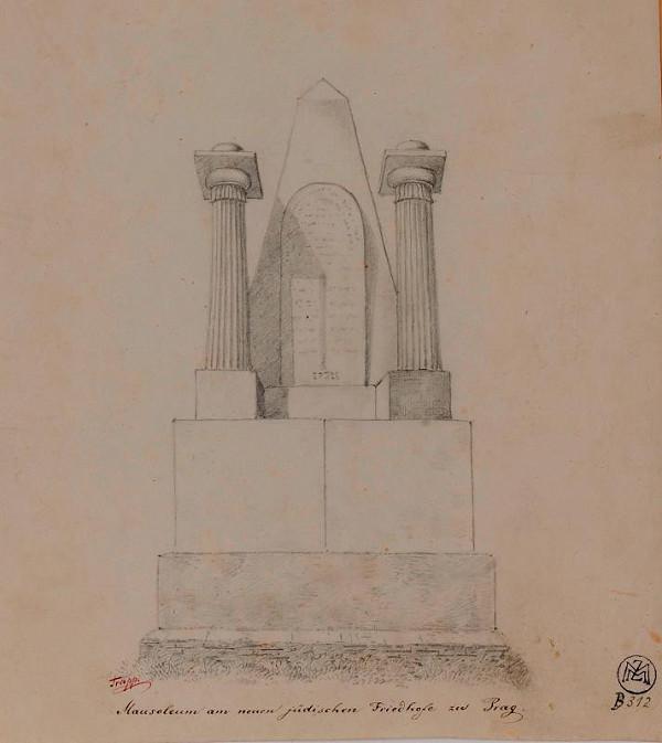 Mořic (Mauritz) Vilém Trapp – Mausoleum na Novém židovském hřbitově v Praze