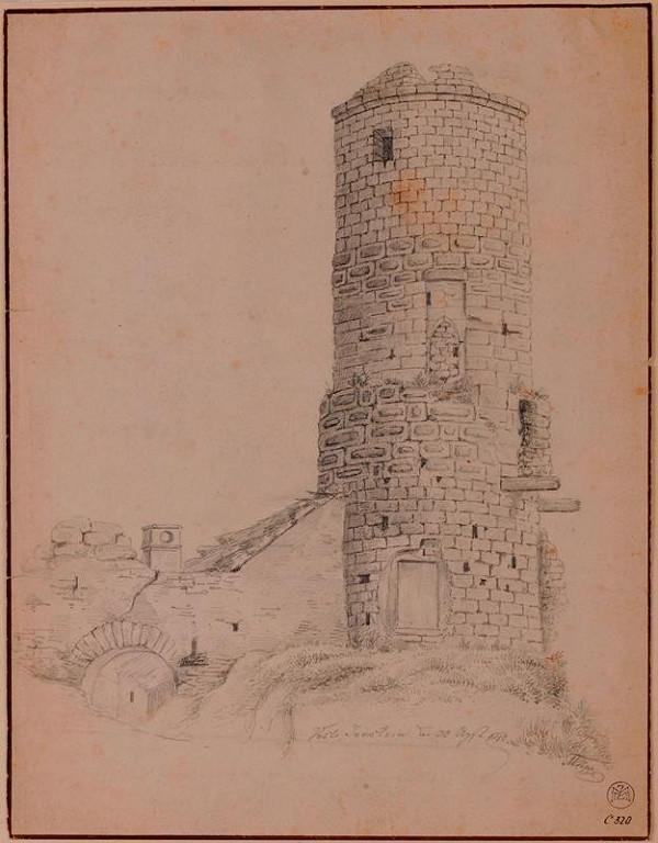 Mořic (Mauritz) Vilém Trapp – Hrad Jenštejn