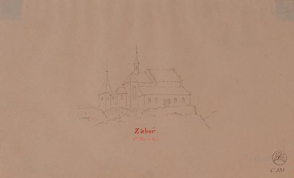 Mořic (Mauritz) Vilém Trapp – Kostel sv. Petra a Pavla v Záboří