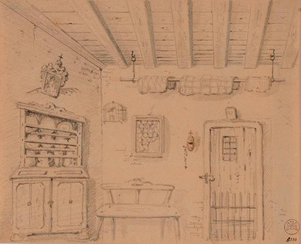 Mořic (Mauritz) Vilém Trapp – Selský interiér