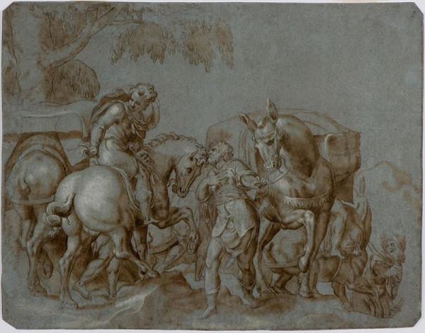 Paolo Farinato (Farinati) - podle – Historický či mytologický výjev?