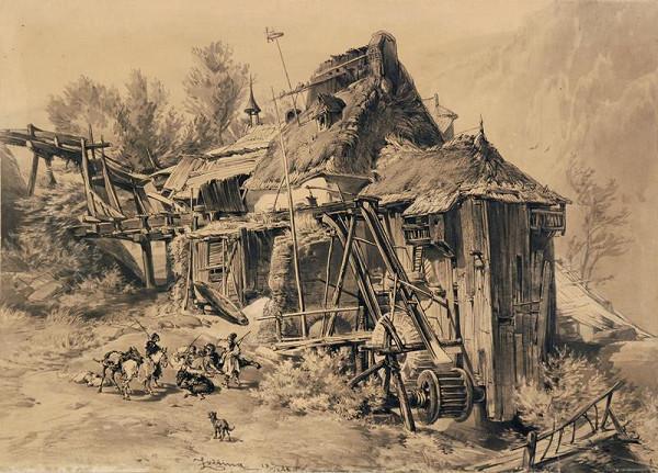 František Bohumír Zvěřina – Vodní mlýn