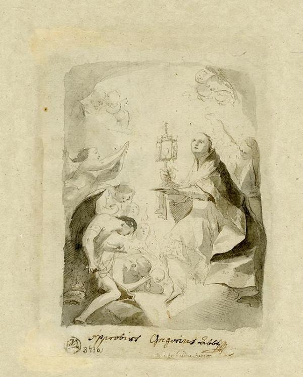 Josef Winterhalder II. (Winterhalter) - Adorace sv. Norberta
