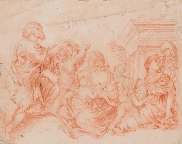 Pietro Berrettini da Cortona - podle – Mytologická scéna