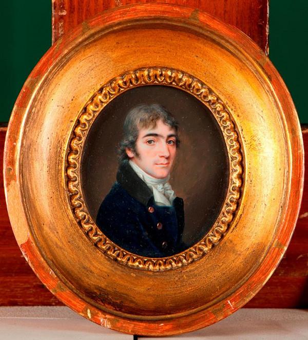 Fréderic Dubois (?) – Podobizna pána