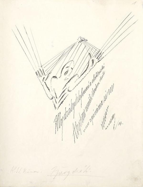 Vlastislav Hofman - Ilustrace k S.K. Neumannovi Zpěvy drátů