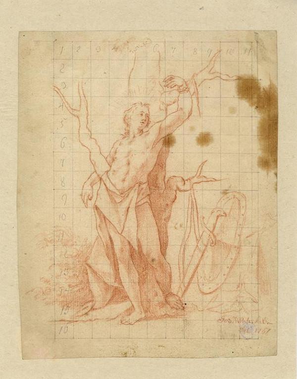 Josef Winterhalder I. (Winterhalter) – Sv. Šebestián
