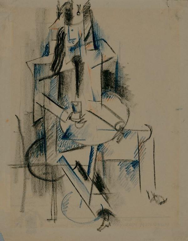 Otto Gutfreund - Muž u stolu
