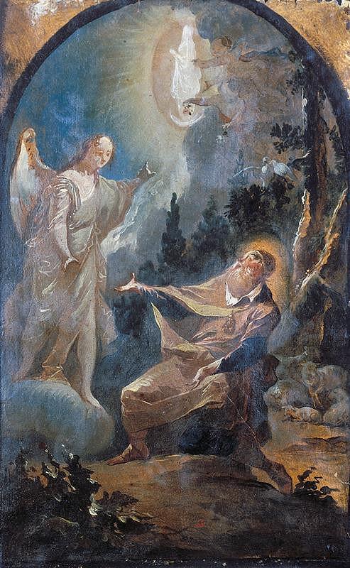 Josef Winterhalder II. (Winterhalter) – Vidění sv. Jáchyma
