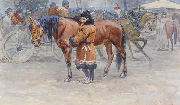 Joža Uprka - Koňský trh