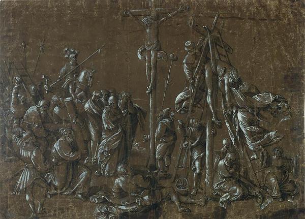 Hans Baldung Grien - Nesení kříže
