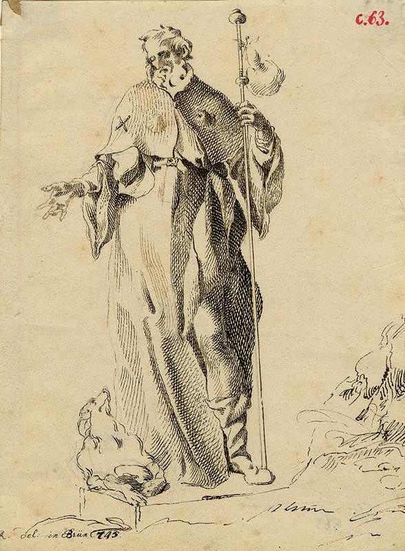 Josef Winterhalder I. (Winterhalter) – Sv. Rochus