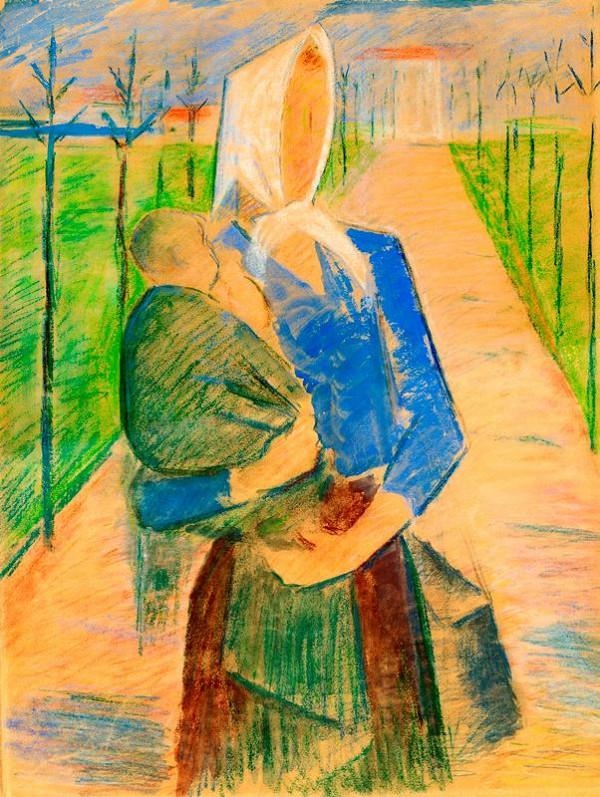Jaroslav Král - Studie k obrazu Matka