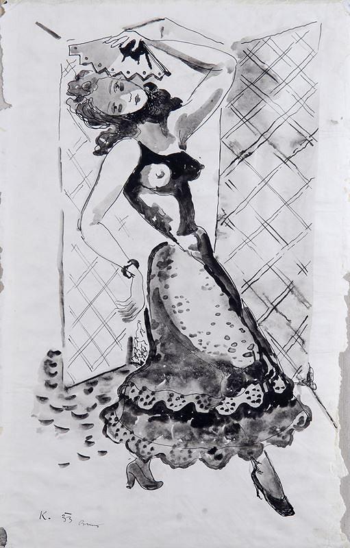 František Kaláb - Španělská tanečnice