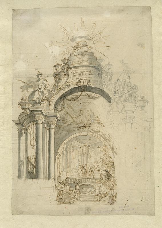 Josef Winterhalder II. (Winterhalter) - Návrh na Boží hrob