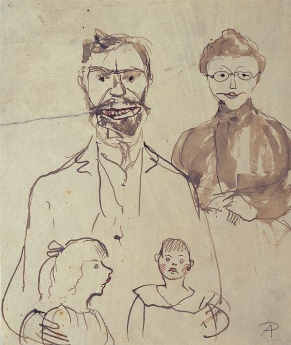 Antonín Procházka - Studie rodiny