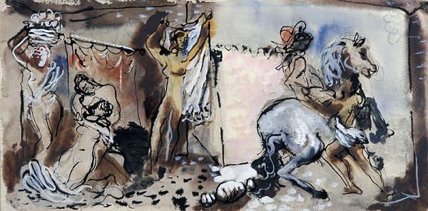 František Kaláb - Figurální scéna