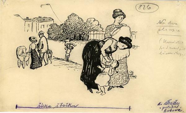 František Gellner – Péče o dítě