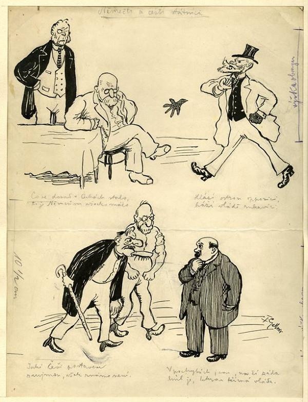 František Gellner – Němečtí a čeští státníci
