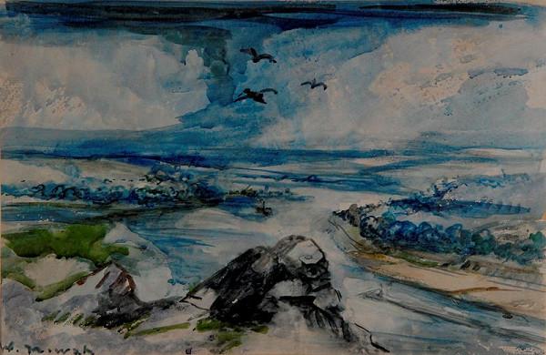 Vilém (Willi) Nowak – Krajina s řekou