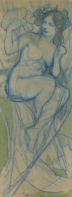 Alfons Mucha - Podzim