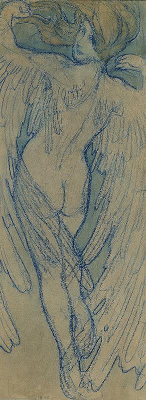 Alfons Mucha - Zima