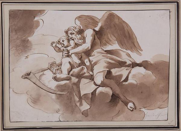 neznámý malíř italský – Chronos