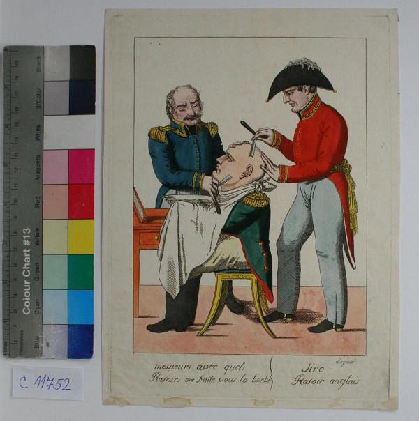 Neznámy autor – Karikatura  Napoleona