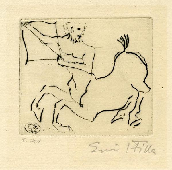 Emil Filla - Kentaur