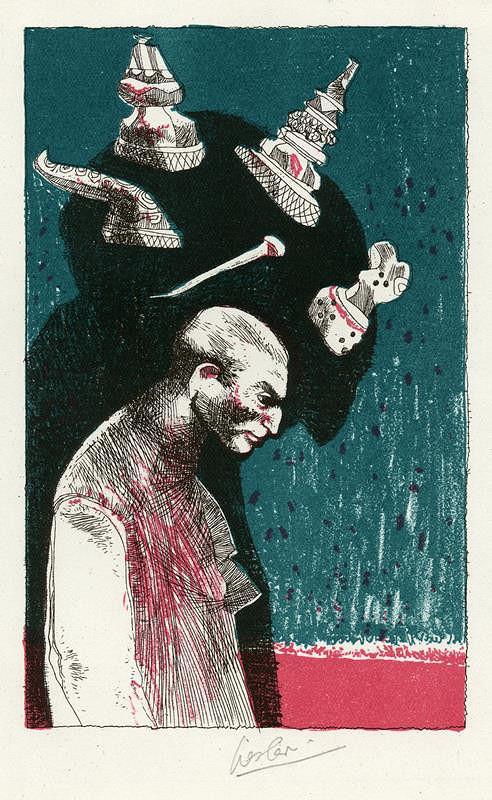 Josef Liesler – Ilustrace ke královské hře