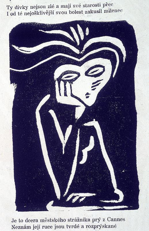 Josef Čapek - Ilustrace k G. Apolinairovi: Pásmo