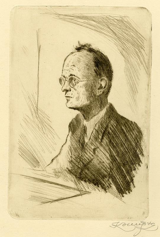 Jan Konůpek - Portrét Antonína Grimma