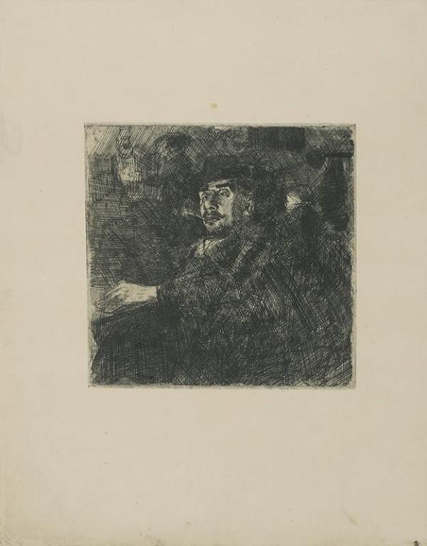 Bohumil Kubišta - Portrét muže